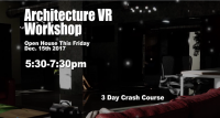 3 Day Architecture VR Workshop